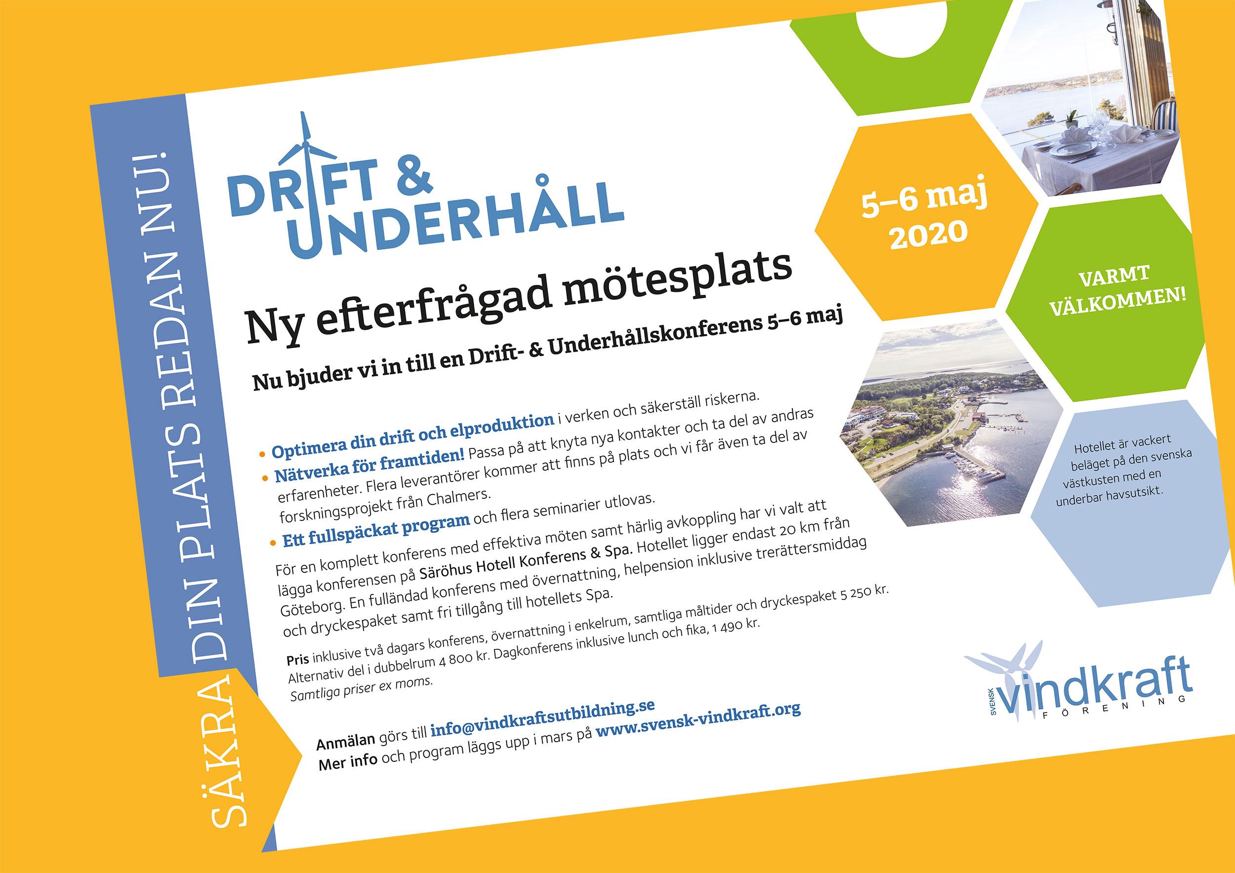 Drift- & Underhållskonferens