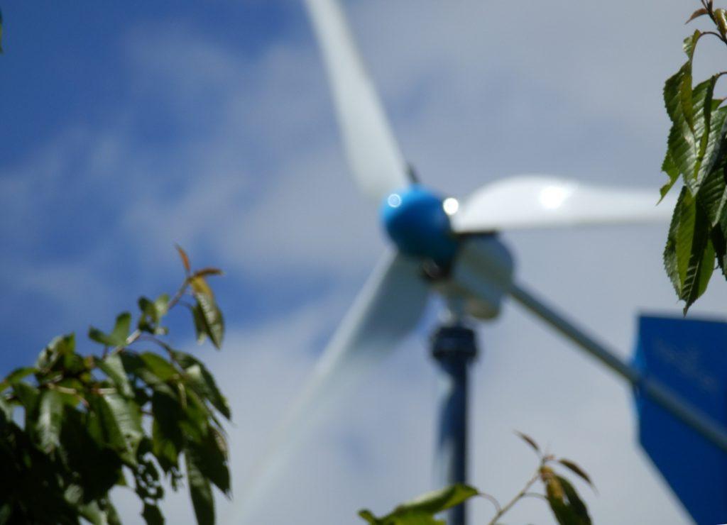 Litet vindkraftverk